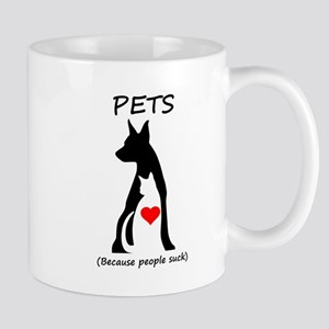 Pets-People Suck Mug